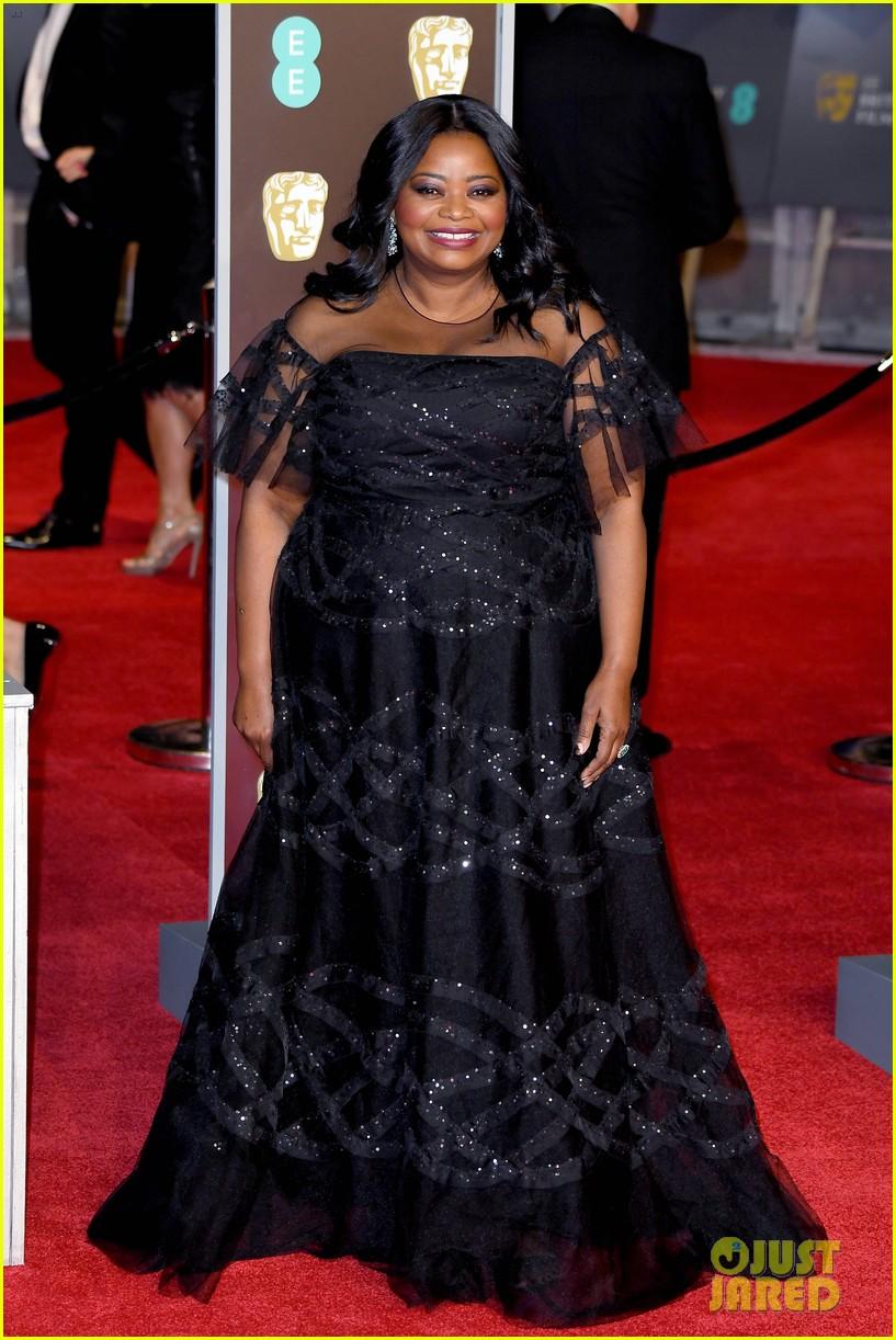 celebrities wearing black baftas 084035135