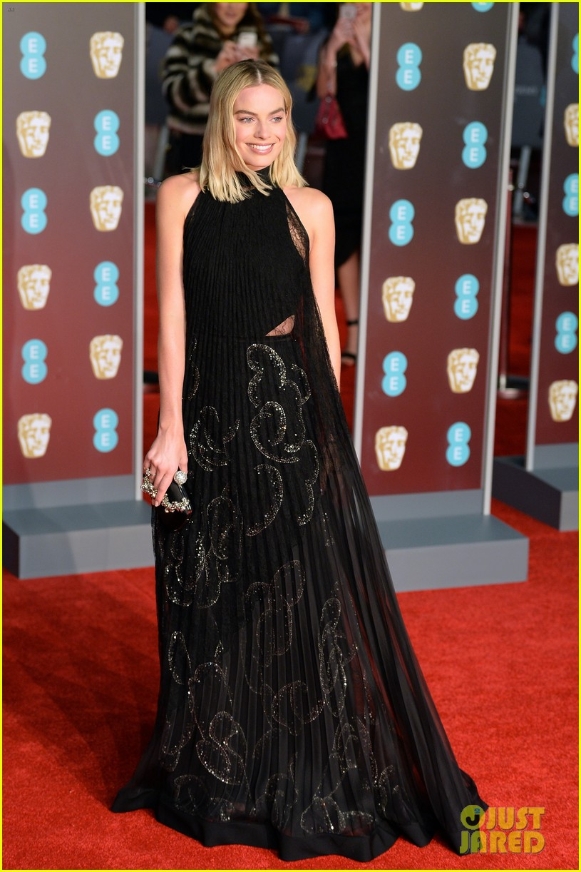 celebrities wearing black baftas 184035145