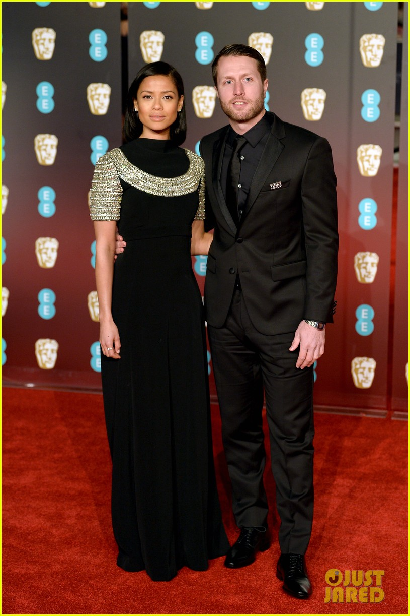 celebrities wearing black baftas 194035146