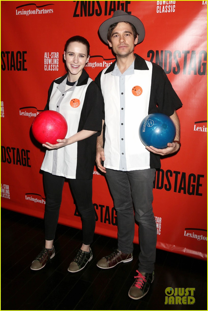 rachel brosnahan steps out to support second stage theater all star bowling classic 054032123