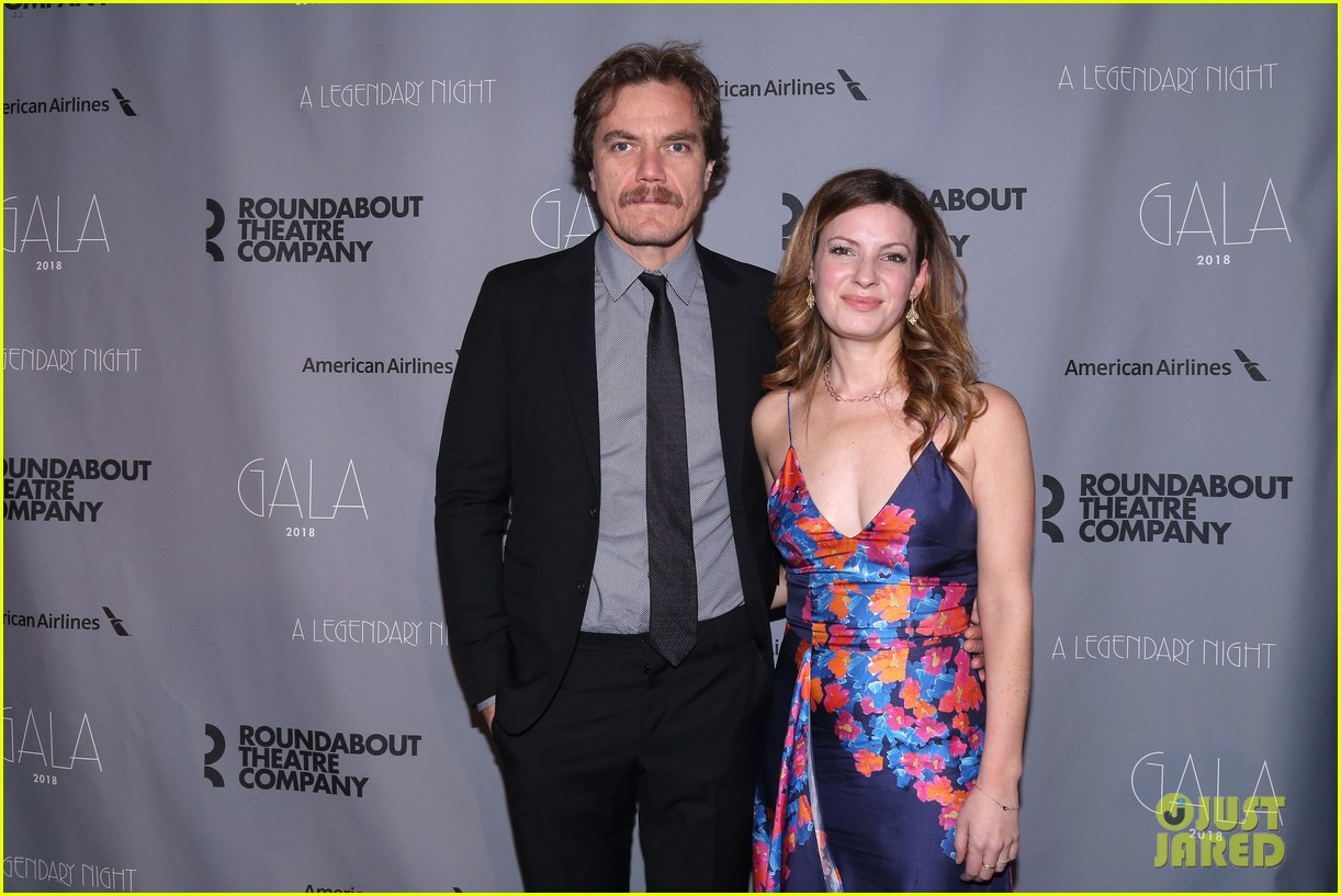 rachel brosnahan michael shannon honor jessica lange at roundabout theatre gala 024040254