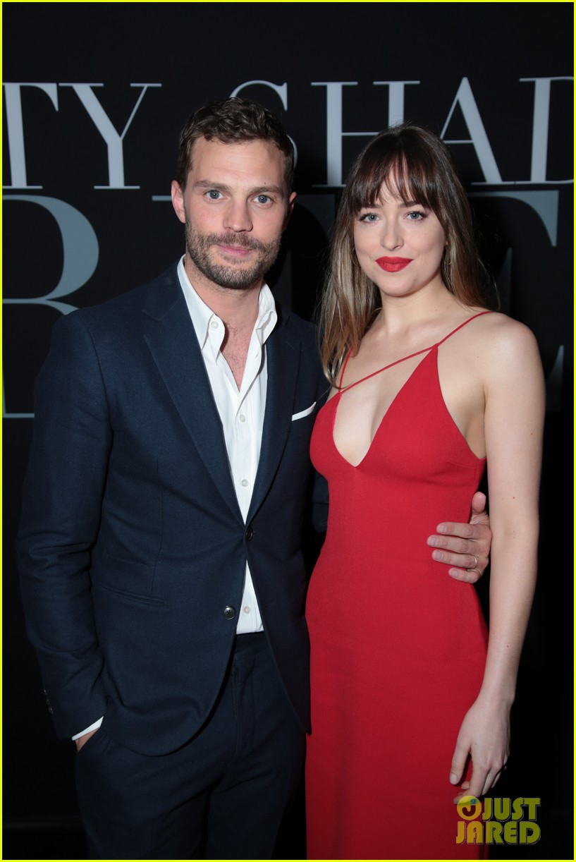 dakota johnson fifty shades red carpet moments 234039340