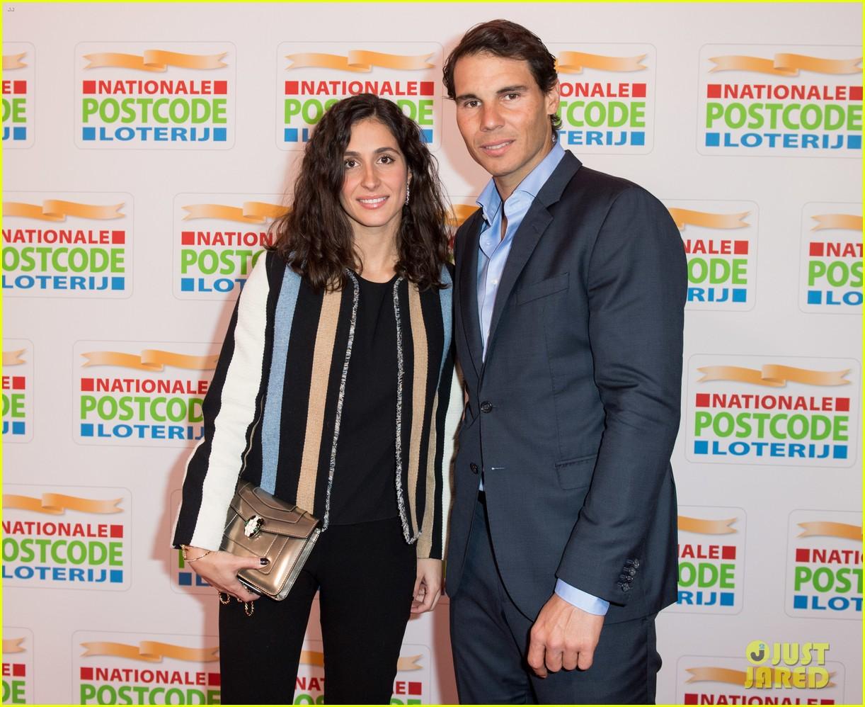 leonardo dicaprio suits up for good money gala with rafael nadal girlfriend xisca perello 134034292