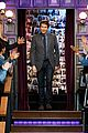 jamie dornan shows off his unfortunate bouncy catwalk on late late show 02