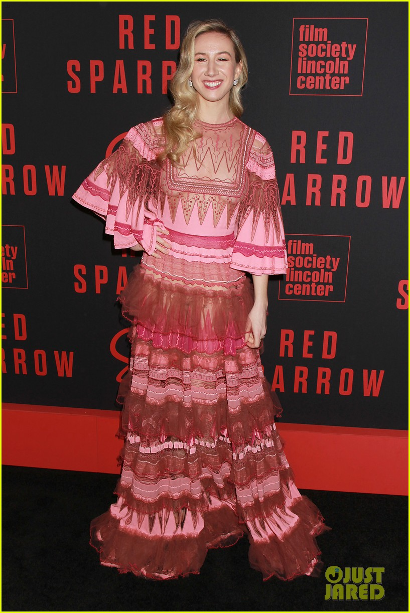 joel edgerton red sparrow nyc premiere 044039518