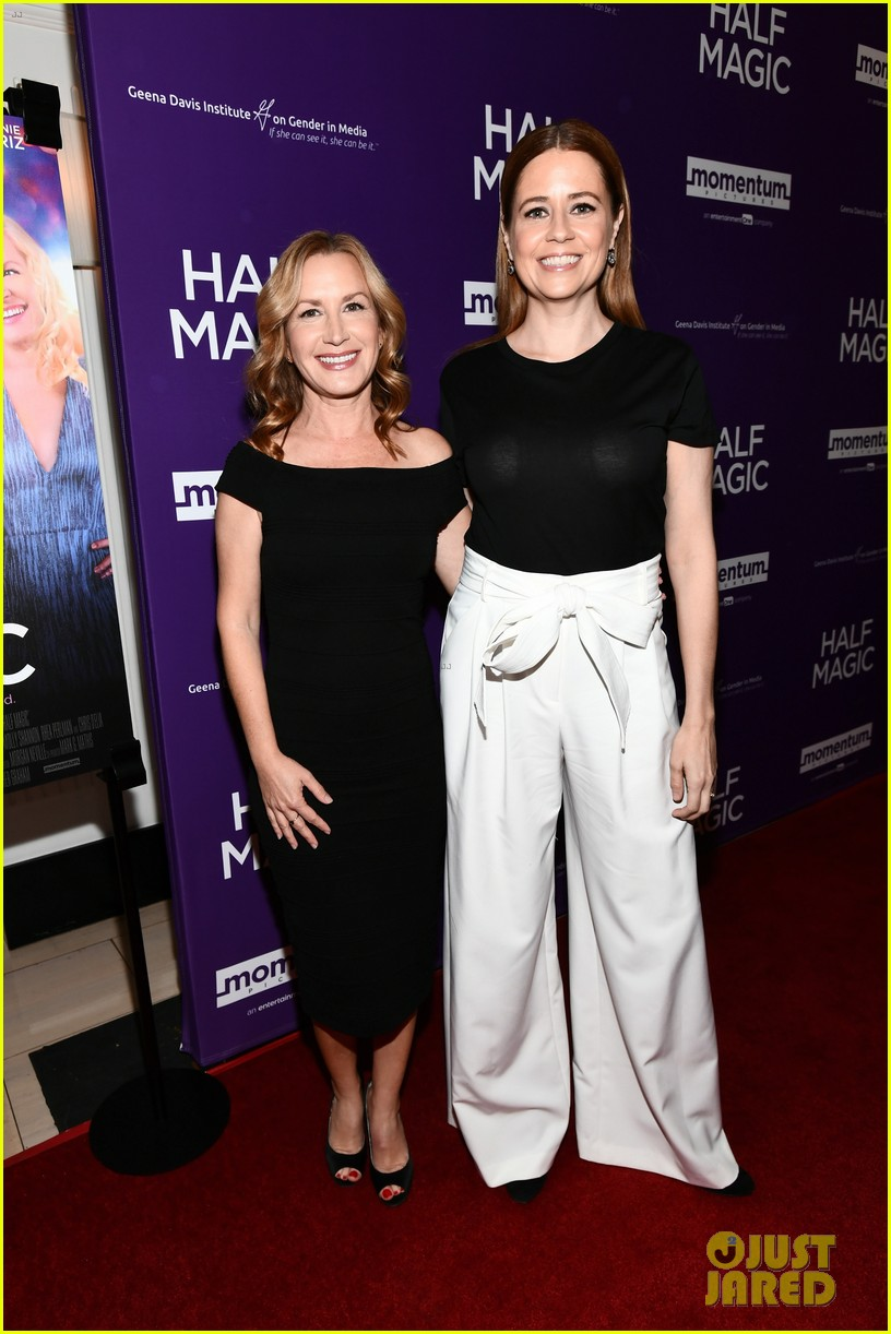 jenna fischer supports former co star anela kinsey at half magic premiere 13
