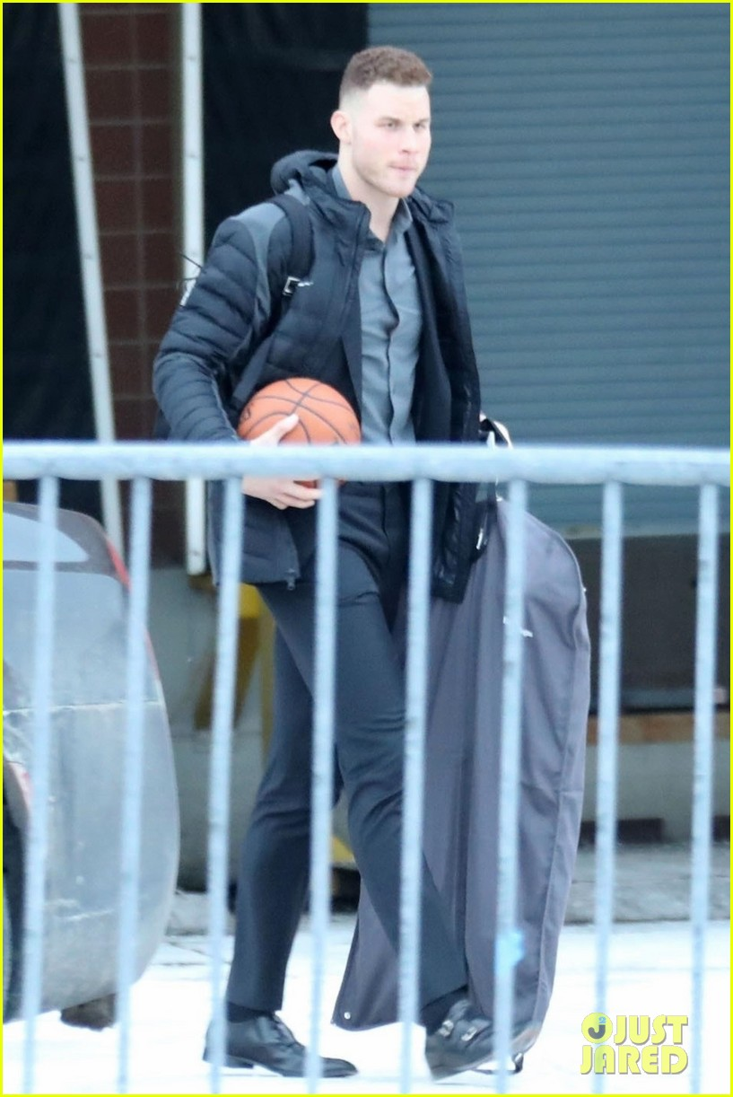 blake griffin steps out after signing with detroit pistons 014025921