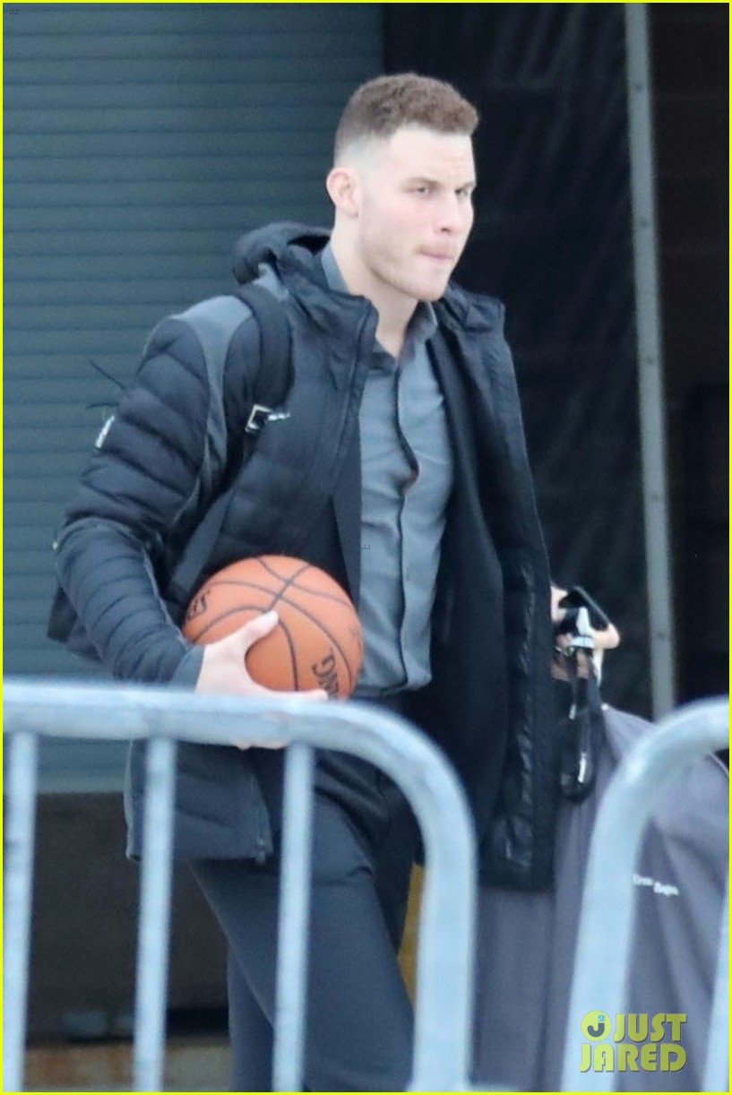 blake griffin steps out after signing with detroit pistons 024025922