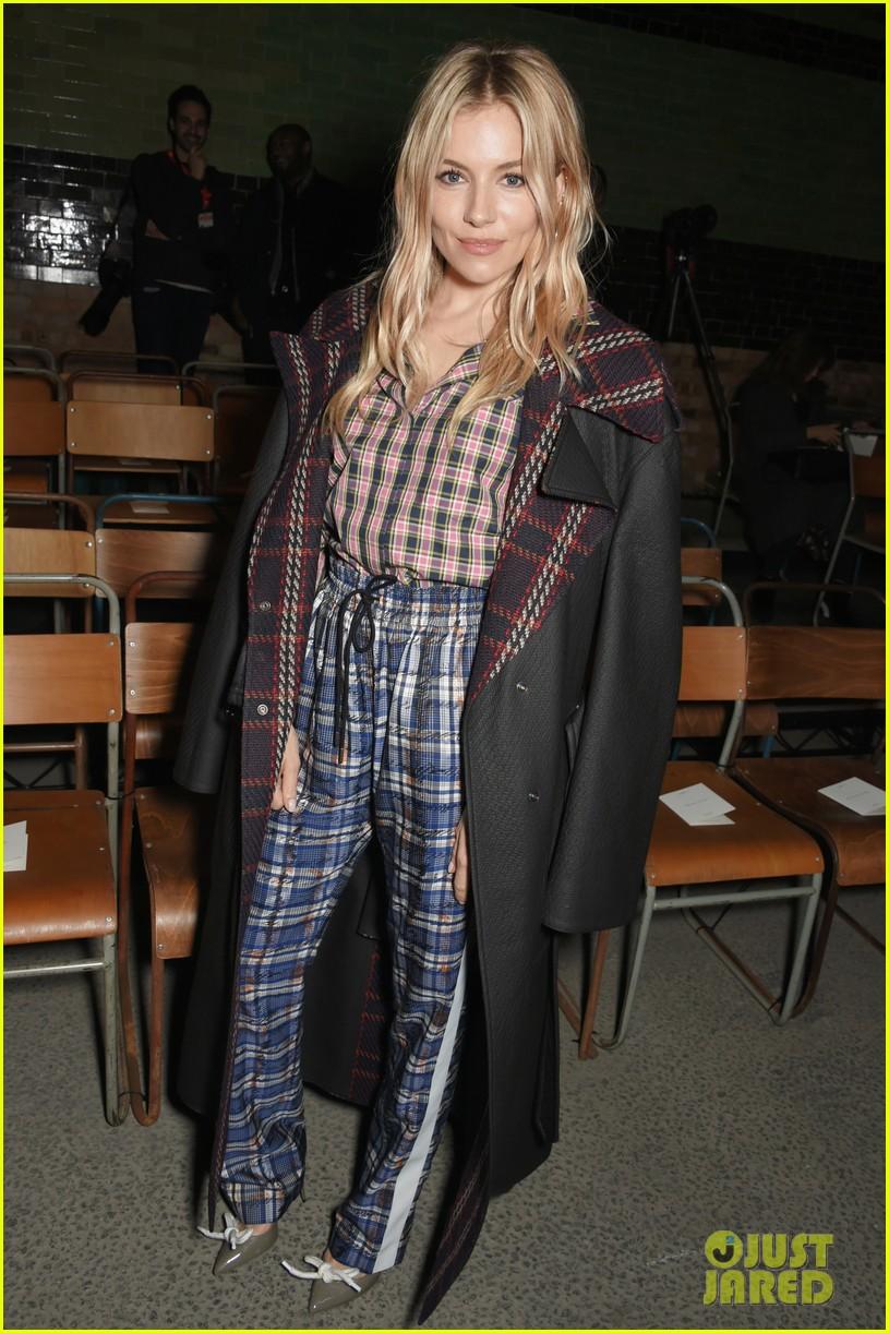 lily james keira knightley zendaya go glam for burberry fashion show 234034895