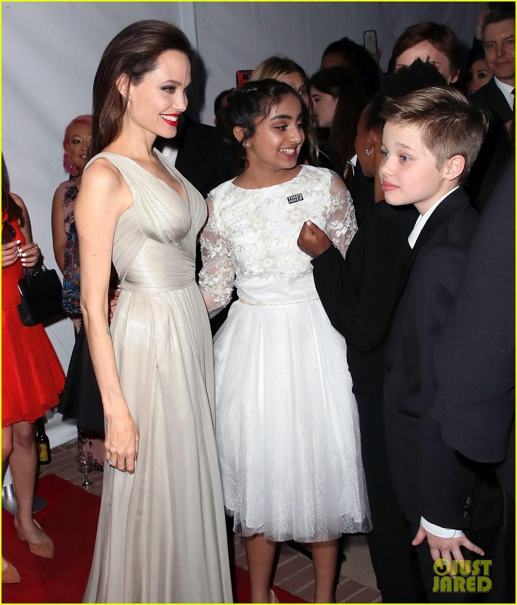 Angelina Jolie Brings ...