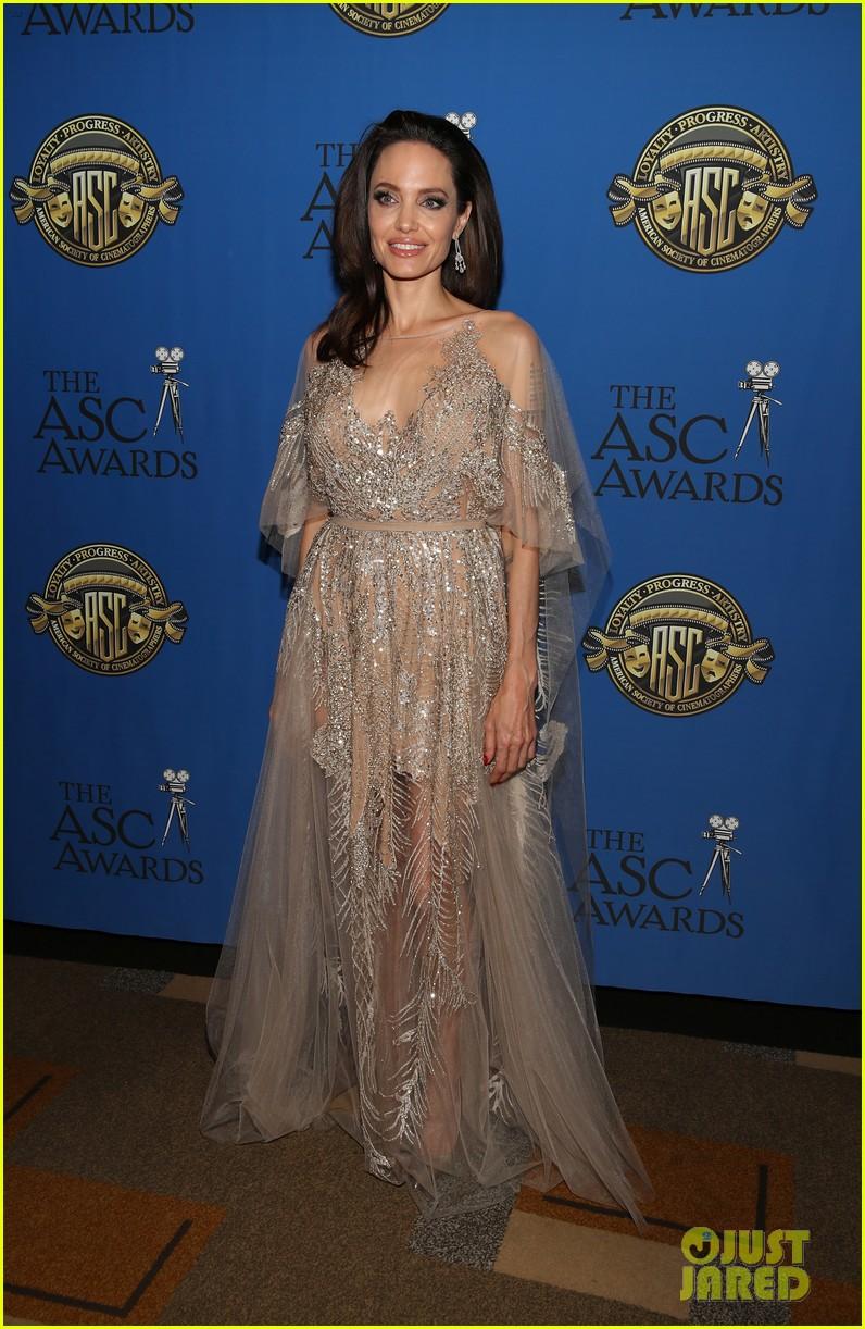 angelina jolie shines at cinematographers awards 014034897