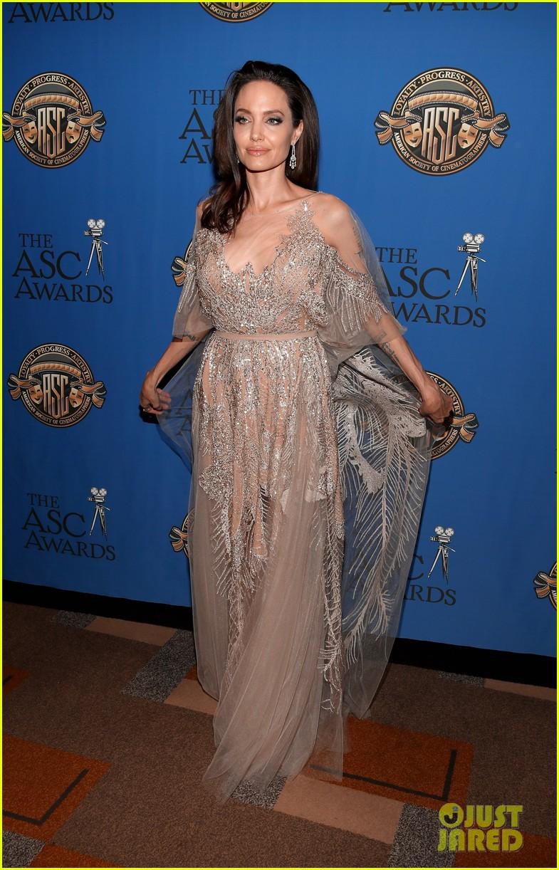 angelina jolie shines at cinematographers awards 044034900