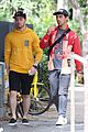 nick jonas meets up with brother joe in australia 01