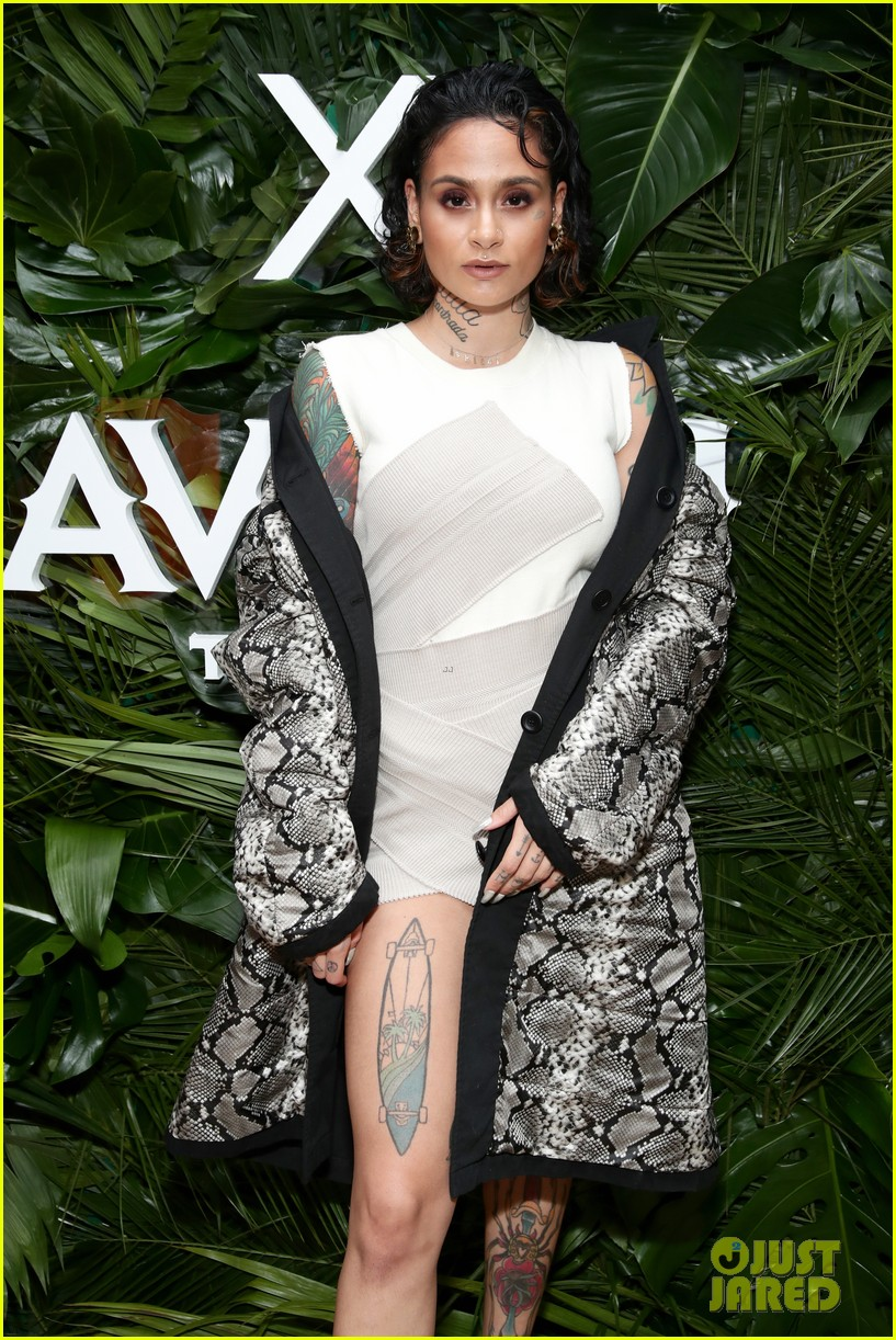 kehlani shows off her fierce looks at new york fashion week 024032996