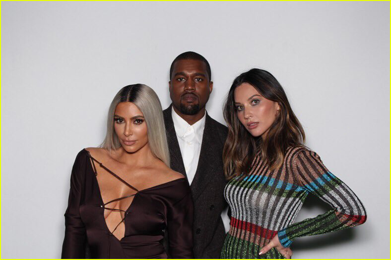 kim kardashian kanye west john legend chrissy teigen at ellen degeneres party 014031175