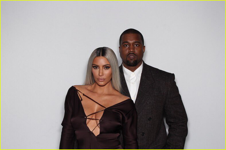 kim kardashian kanye west john legend chrissy teigen at ellen degeneres party 044031178