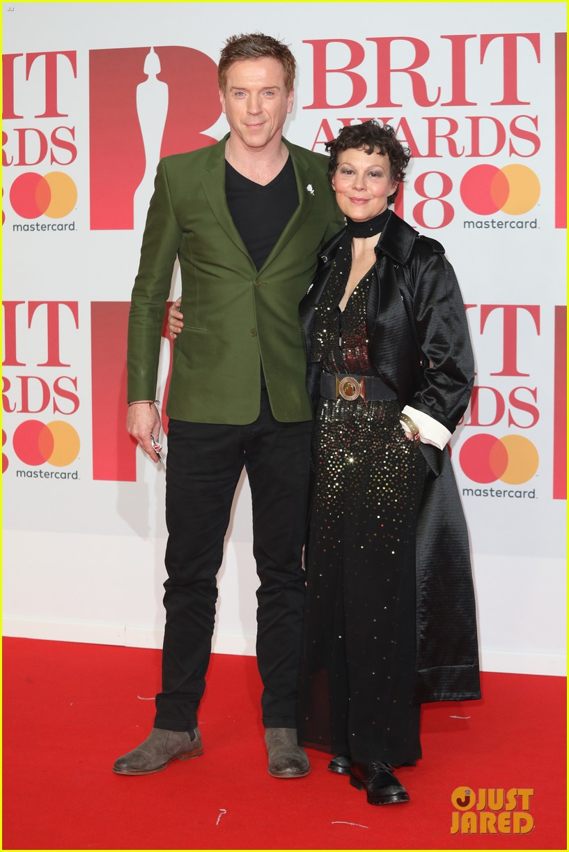 damian lewis wife helen mccrory couple up at brit awards 2018 054036941