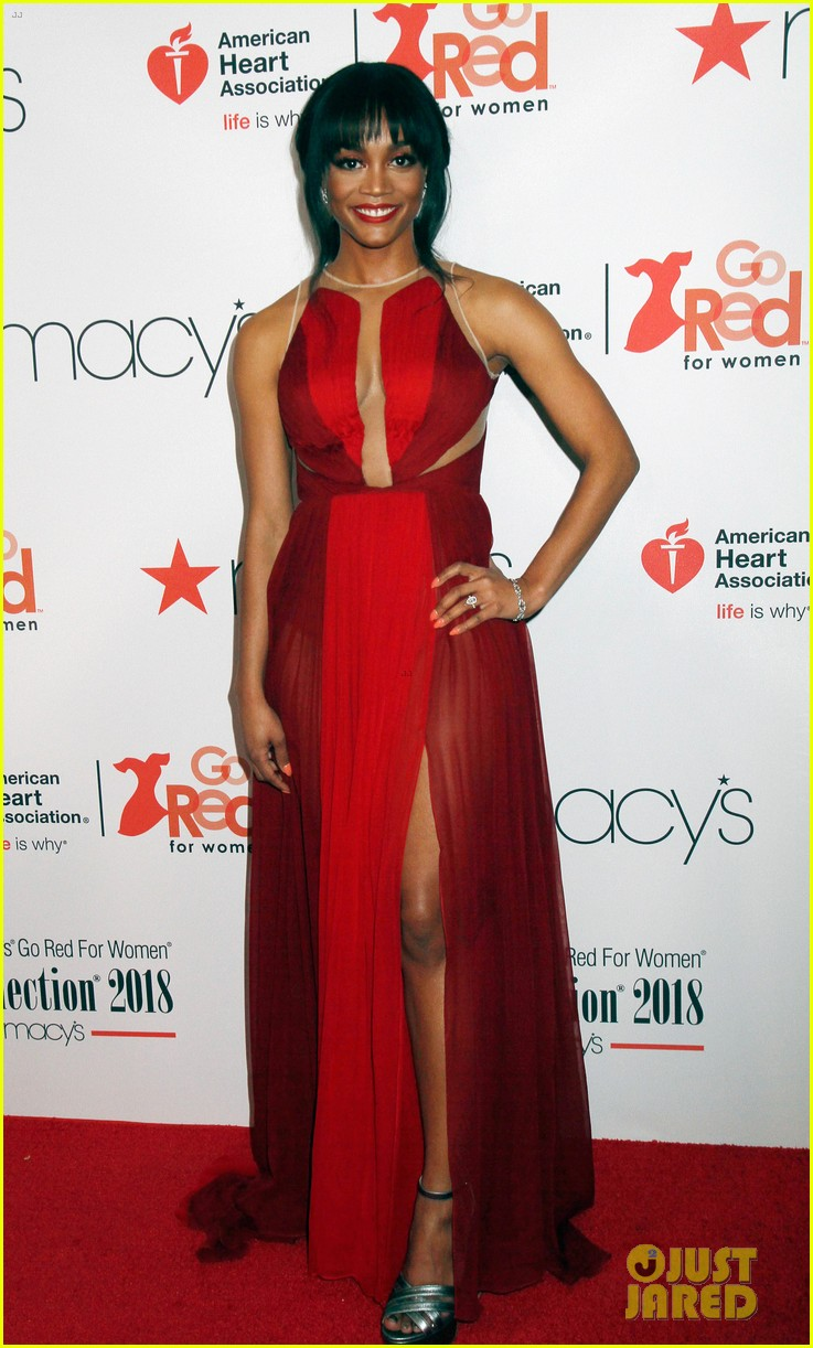 rachel lindsay marisa tomei kate walsh more hit runway at go red for women 554030508