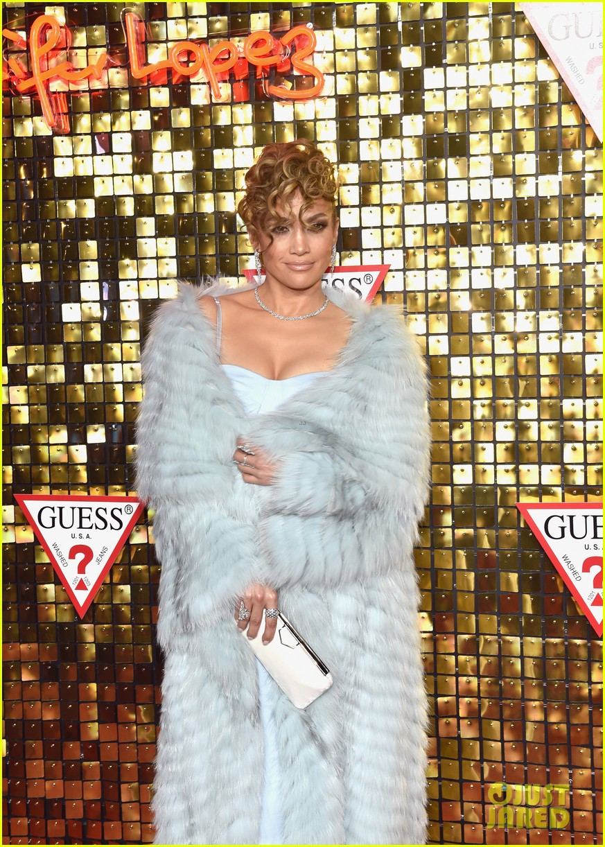 jennifer lopez gets support from alex rodriguez at guess spring 2018 campaign reveal 034025484