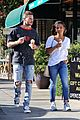 christina milian matt pokora grab ice cream in studio city 01