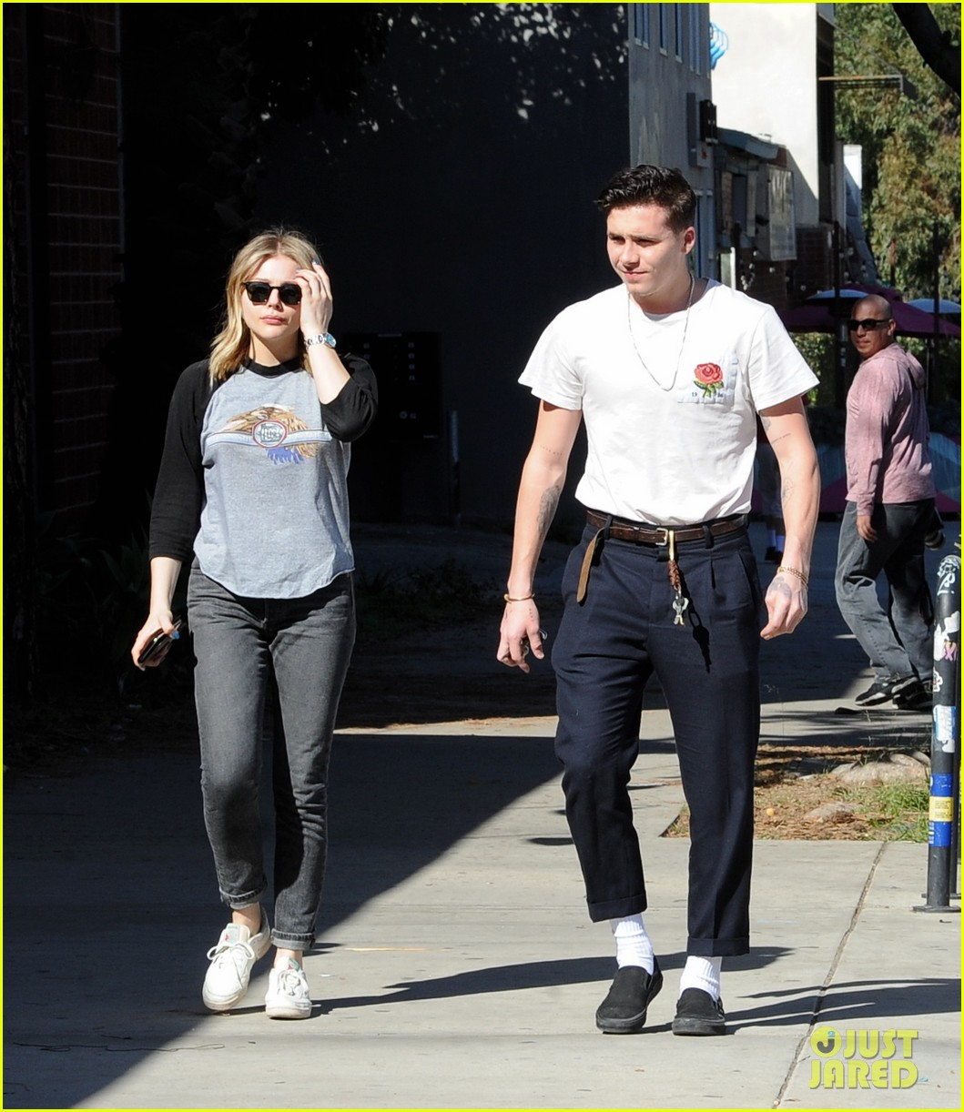 chloe moretz brooklyn beckham go casual for lunch date 124028041