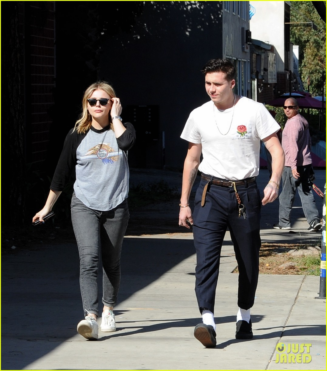 chloe moretz brooklyn beckham go casual for lunch date 144028043