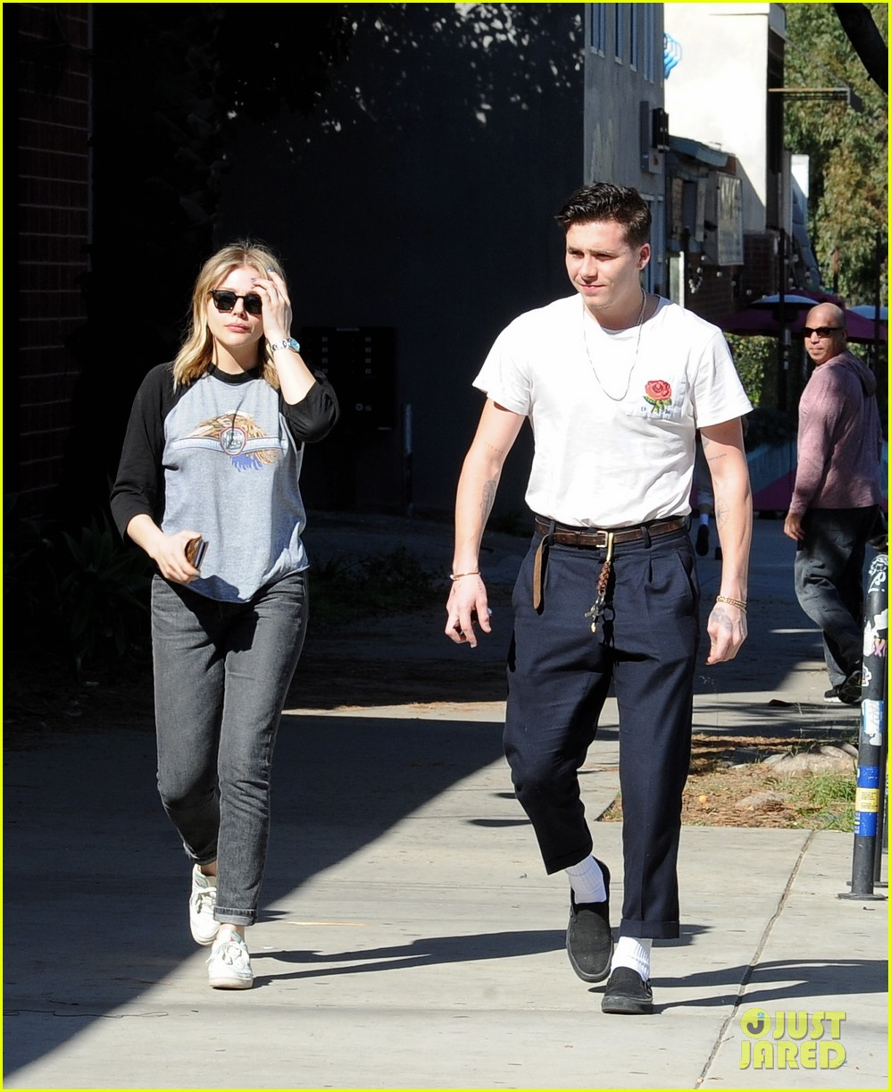 chloe moretz brooklyn beckham go casual for lunch date 204028049