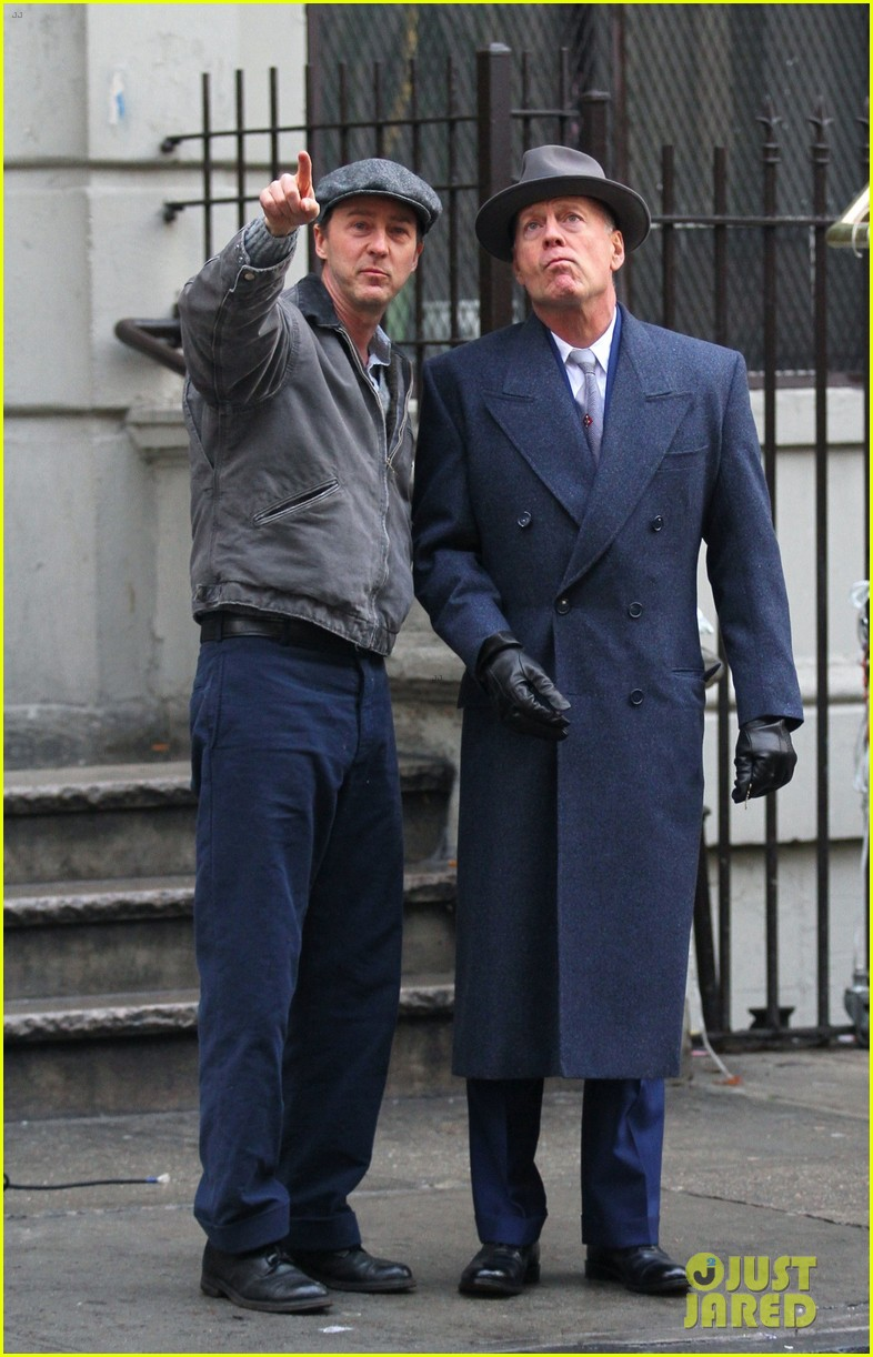 edward norton and bruce willis start filming motherless brooklyn 034028412