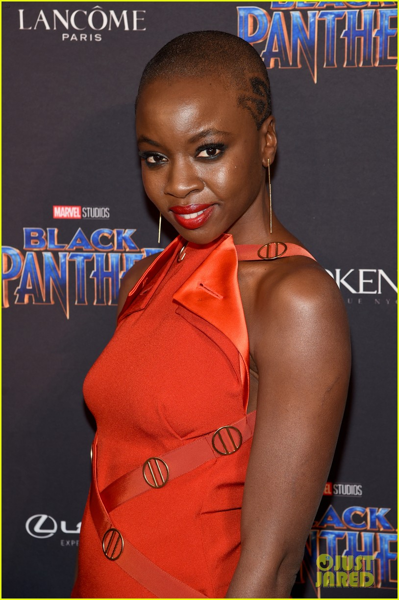 lupita nyongo danai gurira are red hot at black panther nyfw event 034032010