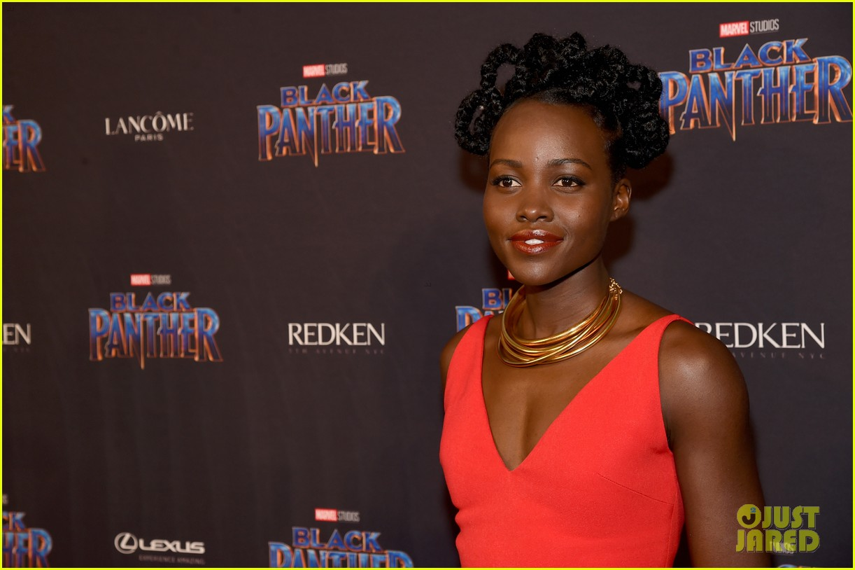 lupita nyongo danai gurira are red hot at black panther nyfw event 064032013