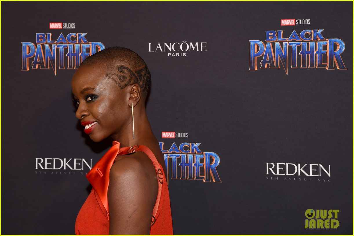 lupita nyongo danai gurira are red hot at black panther nyfw event 104032017