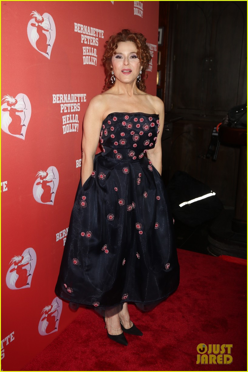 bernadette peters officially returns to broadway in hello dolly 054038010