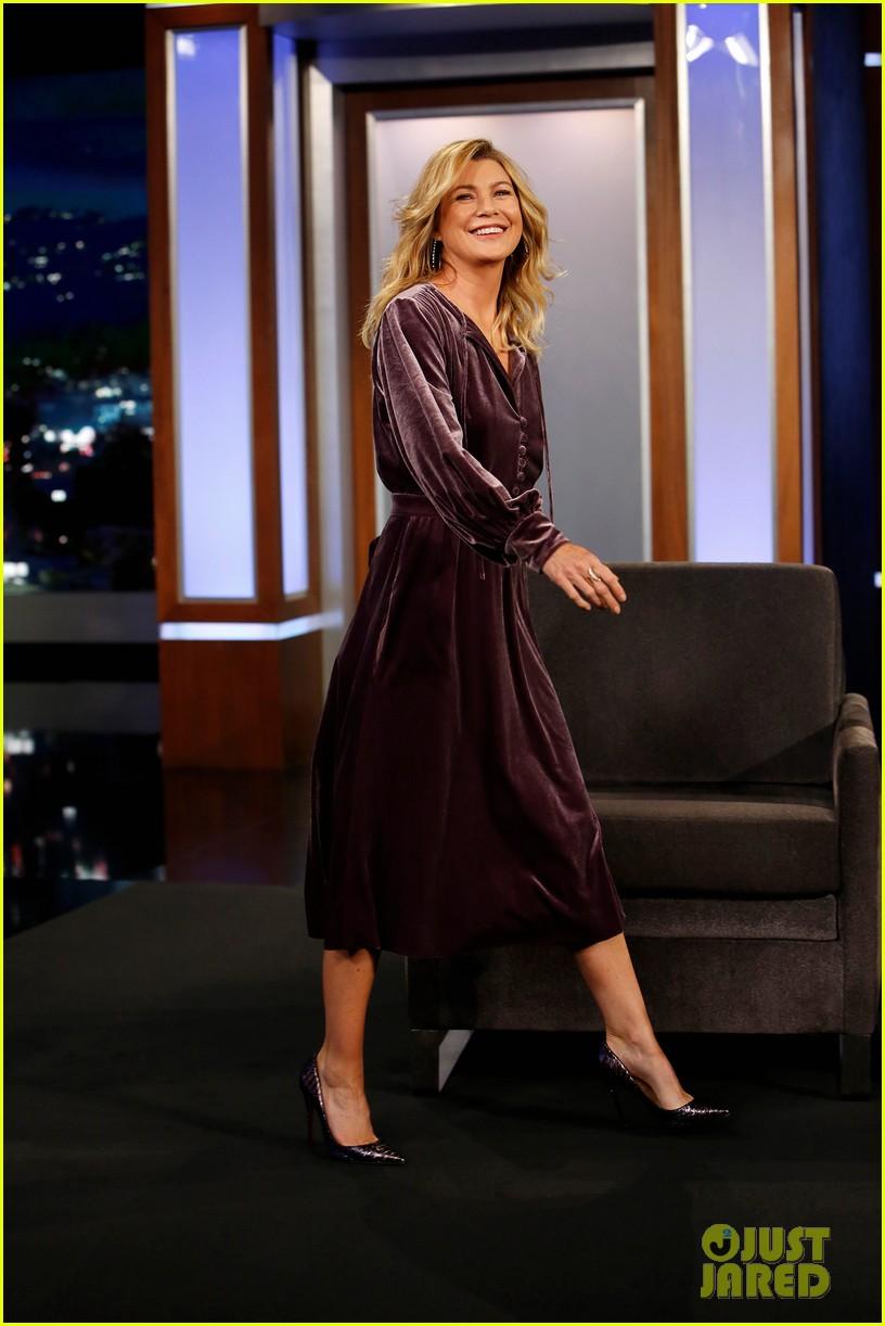 Ellen Pompeo Talks Revealing \'Grey\'s Anatomy\' Salary on \'Jimmy ...