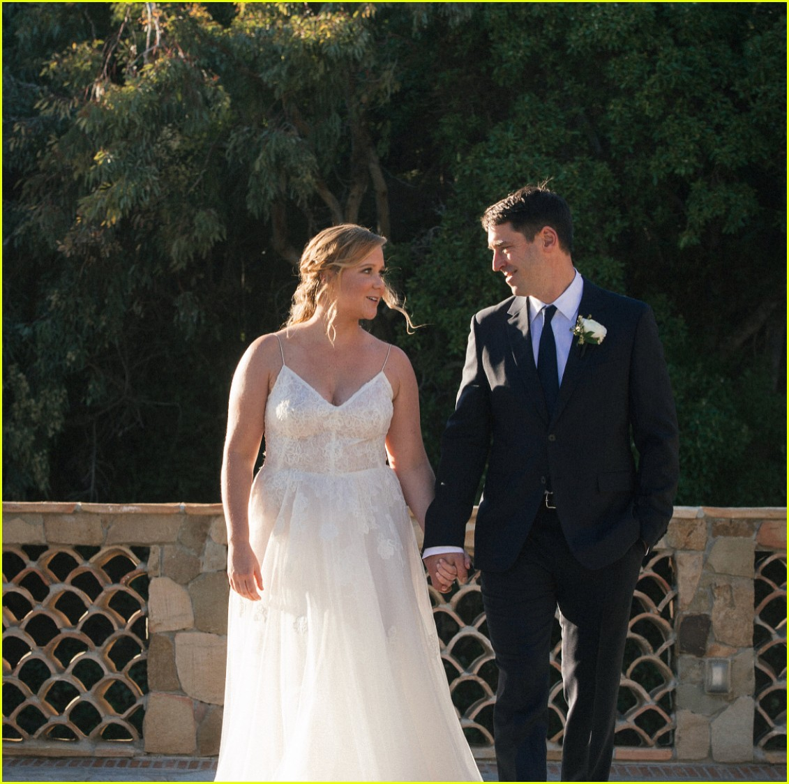 amy schumers wedding photos jennifer lawrence amp more