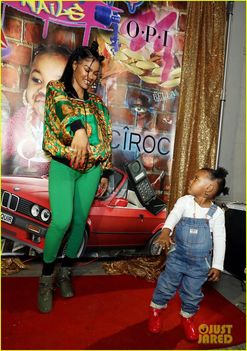 Teyana Taylor Gets Support from Missy Elliott & Baby Girl at Junie ...