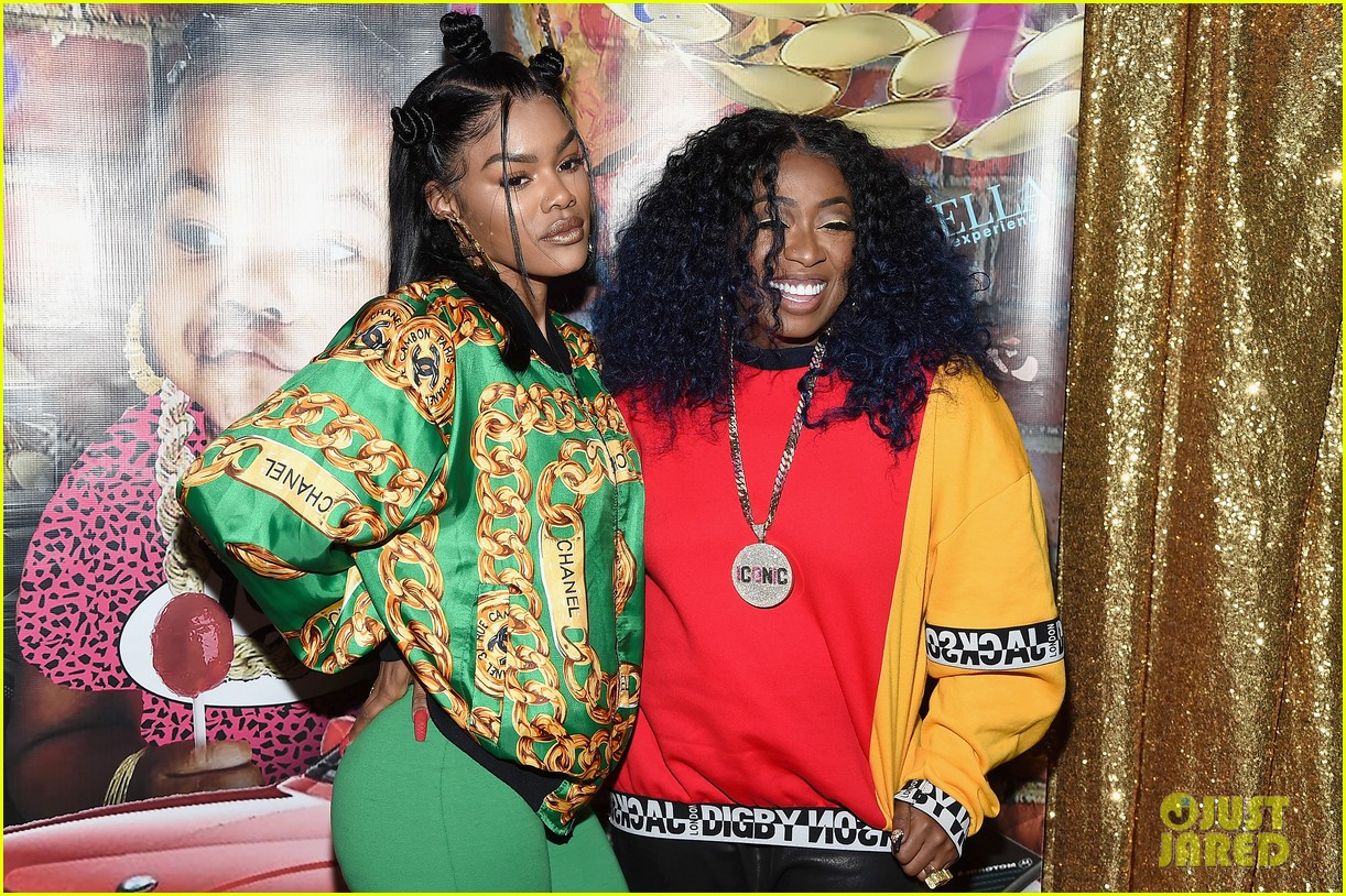 Is Missy Elliot Married Ideal teyana taylor gets support from missy elliott & baby girl at junie