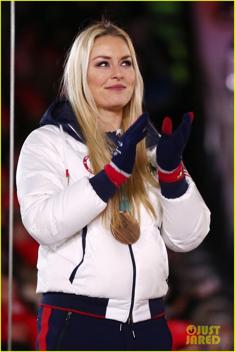 lindsey vonn olympics 2018 closing ceremony 104038801