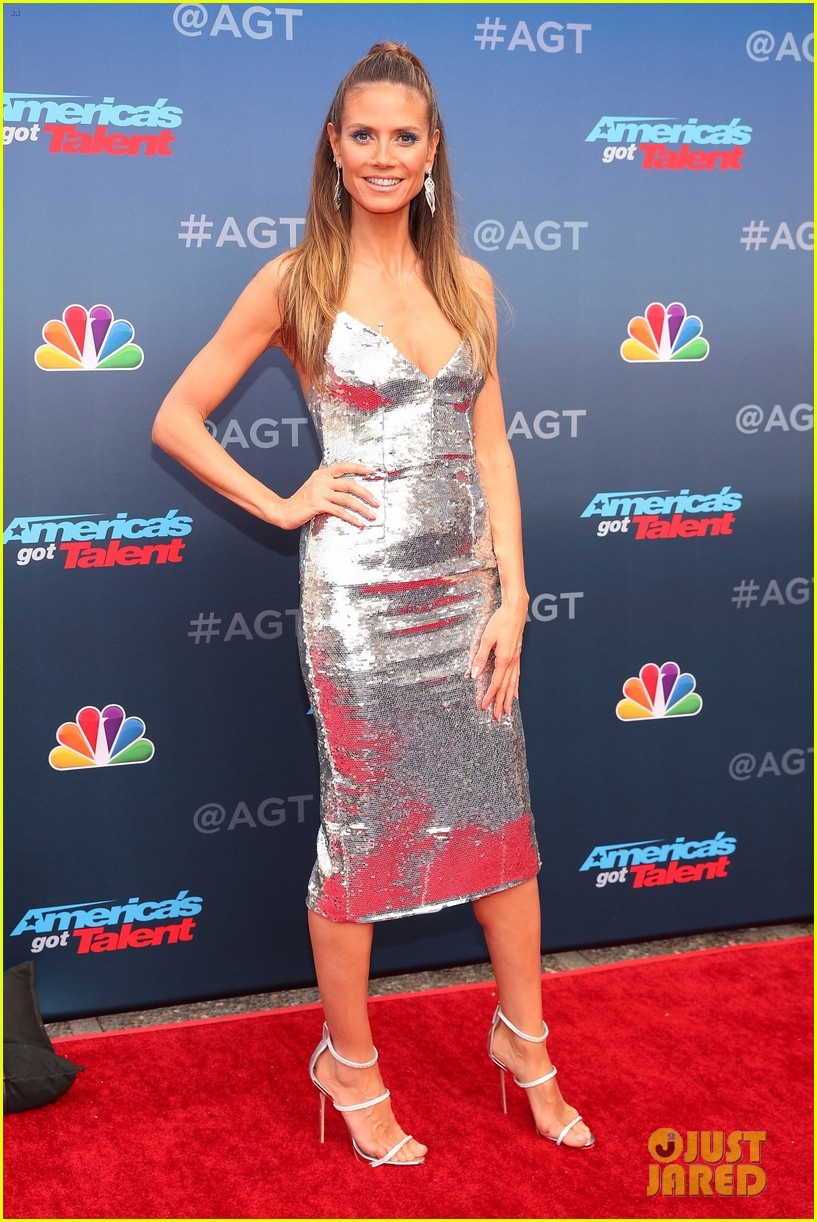 Tyra Banks Heidi Klum Amp Mel B Kick Off Americas Got Talent 2018 Photo 4049877 Americas