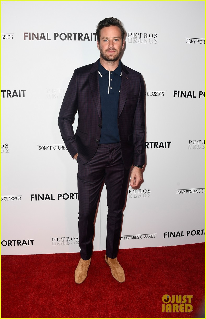 Armie Hammer & Elizabeth Chambers Couple Up at 'Final ...