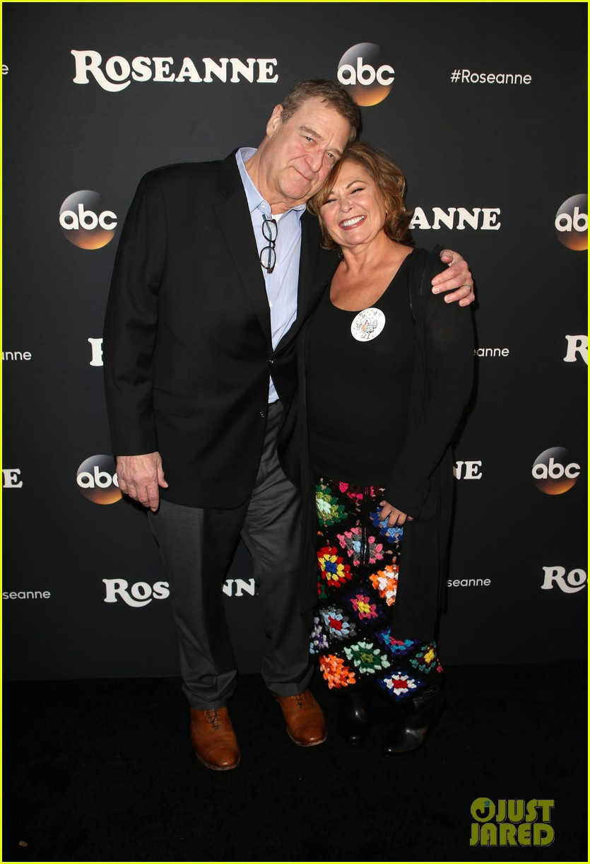 roseanne barr john goodman buddy up at roseanne reboot premiere 014055010