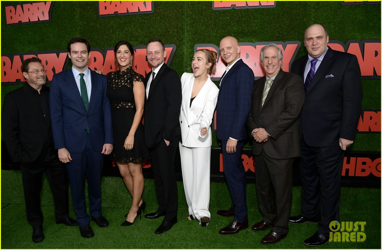 Bill Hader Suits Up at the Premiere of 'Barry'!: Photo