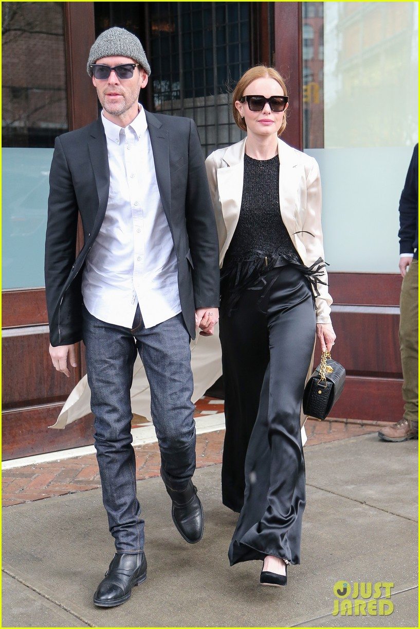 kate bosworth michael polish couple up for fashion event in nyc 024048151