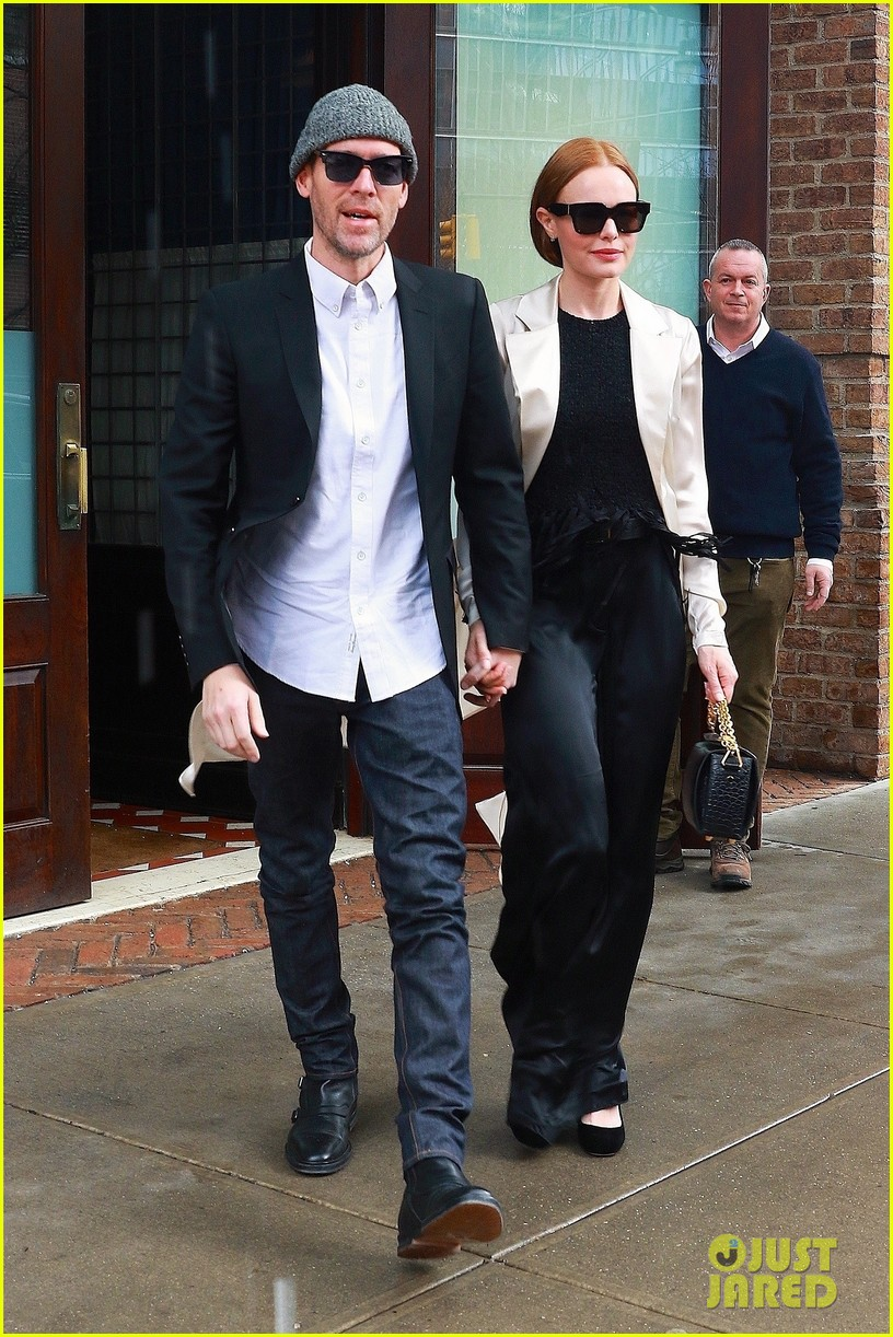 kate bosworth michael polish couple up for fashion event in nyc 104048159