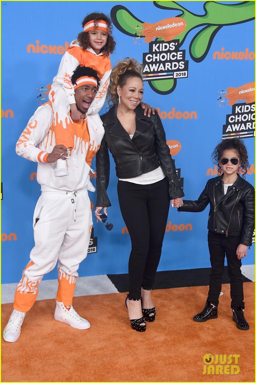 Mariah Carey & Nick Cannon Bring Twins Moroccan & Monroe ... мэрайя кэри