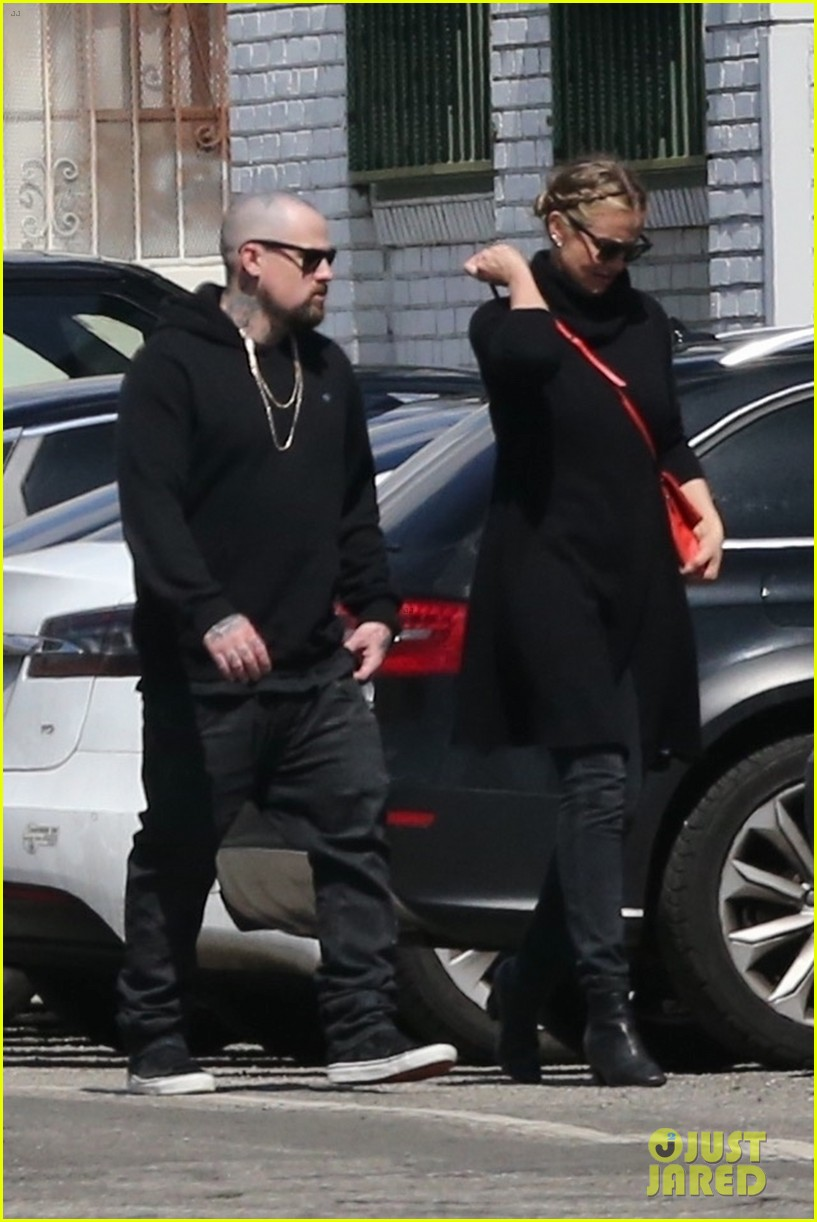 cameron diaz benji madden head to a party in la 014052135