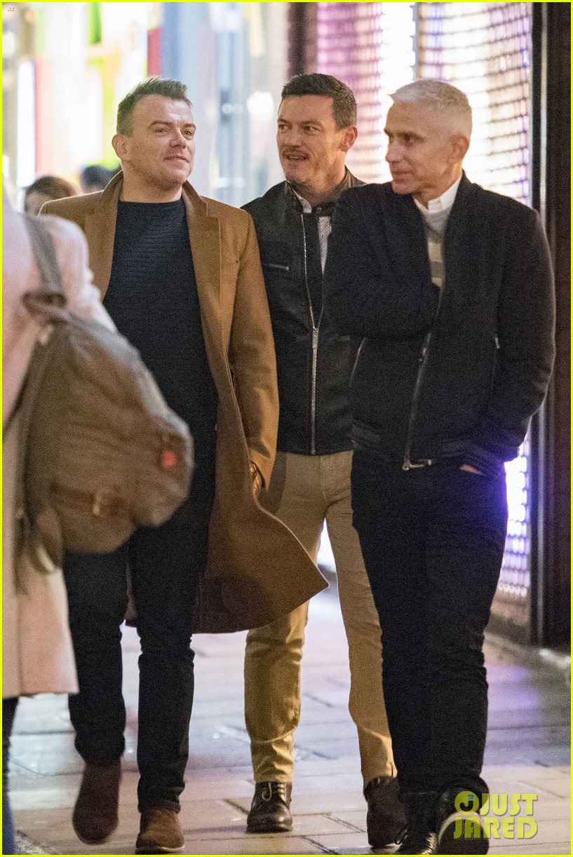 luke evans looks handsome in leather while out in london 054055653