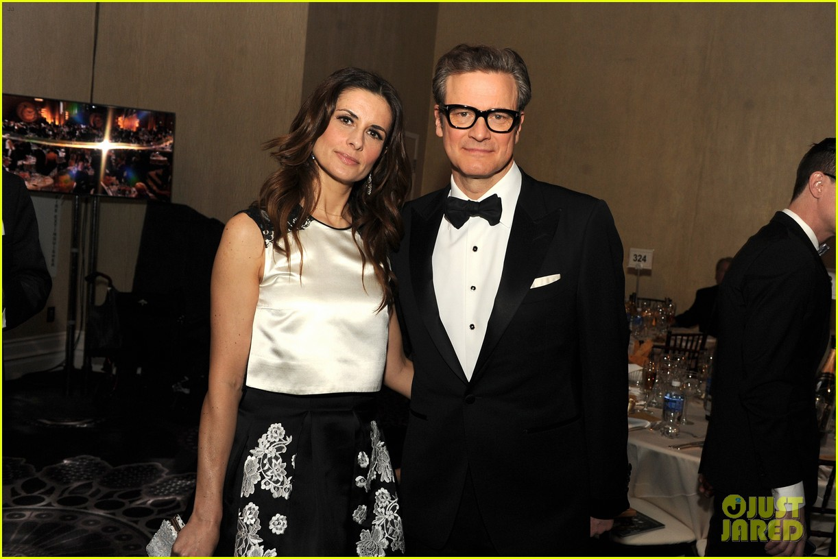 Colin Firth's Wife's '...