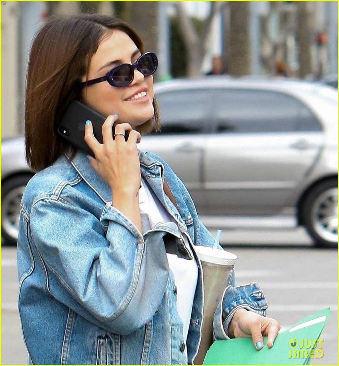 selena gomez is all smiles while out and about in beverly hills 044052167