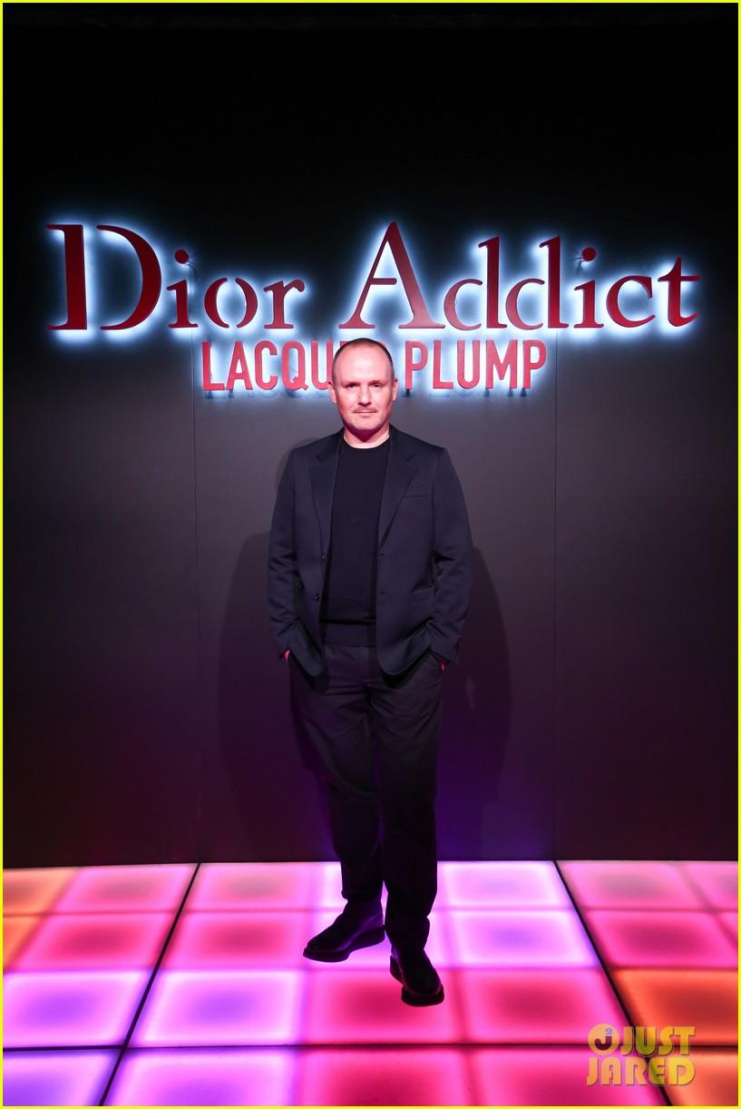 bella hadid natalia dyer charlie heaton celebrate dior addict lacquer plump launch 174051066