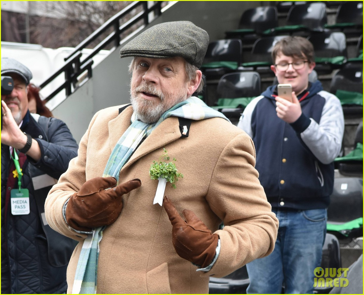 mark hamill is named guest of honor at st patricks day parade in dublin 024052311